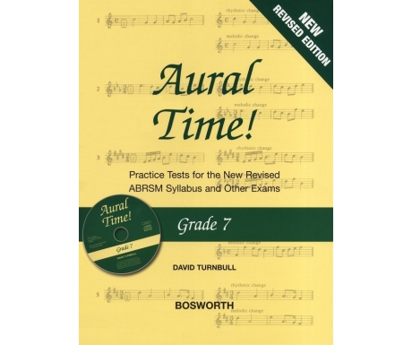 Aural Time! Grade 7 (New Revised Edition with CD)