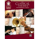 Easy Classical Themes Instrumental Solos Cello Level 1 (with CD)