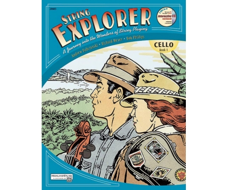 String Explorer Cello Book 1 (with CD)