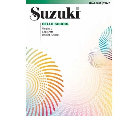 Suzuki Cello School Volume 7: Cello Part (Revised Edition)