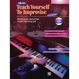 Alfred's Teach Yourself to Improvise at the Keyboard (with CD)