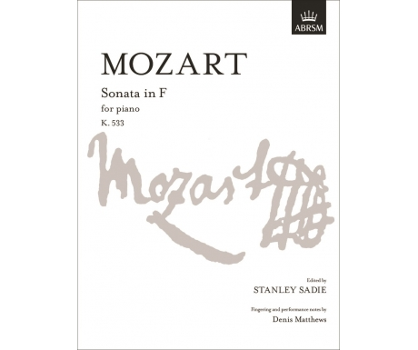 Mozart: Sonata in F for Piano K. 533