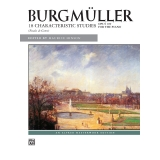 Burgmüller: 18 Characteristic Studies (Etudes de Genre) - Opus 109 for the Piano