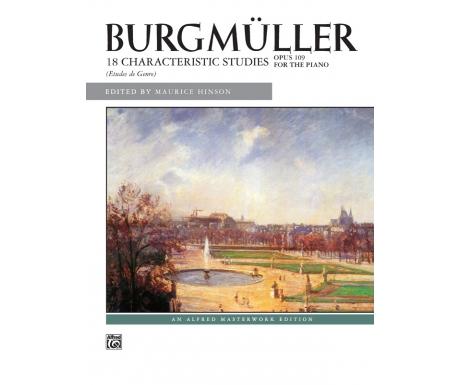 Burgmüller: 18 Characteristic Studies (Etudes de Genre) - Opus 109 for the Piano