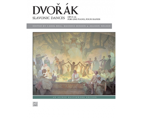 Dvořák: Slavonic Dances - Opus 46 for One Piano, Four Hands