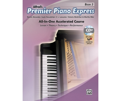 Alfred's Premier Piano Express Book 3 (with CD, Online Audio & Software)