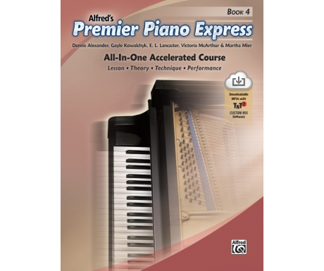 Alfred's Premier Piano Express Book 4 (with Online Audio & Software)