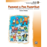 Famous & Fun Favorites Book 3 (Elementary to Late Elementary) (UK Exam Grade 1)
