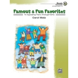 Famous & Fun Favorites Book 5 (Intermediate) (UK Exam Grades 3-4)
