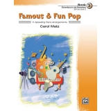 Famous & Fun Pop Book 3 (Elementary to Late Elementary) (UK Exam Grade 1)