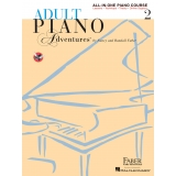 Adult Piano Adventures All-in-One Piano Course 2 (with Online Support)