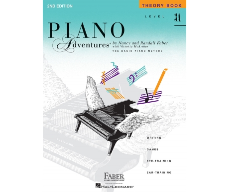 Piano Adventures Theory Book Level 3A