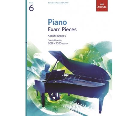 Piano Exam Pieces ABRSM Grade 6 2019 & 2020