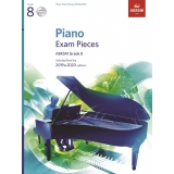 Piano Exam Pieces ABRSM Grade 8 2019 & 2020 (with 2 CDs)