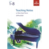 Teaching Notes on Piano Exam Pieces 2019 & 2020 Grades 1-8