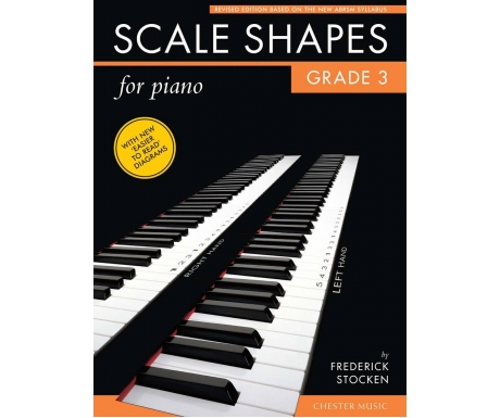 Scale Shapes for Piano Grade 3