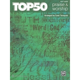 Top 50 Praise & Worship (Easy Piano)