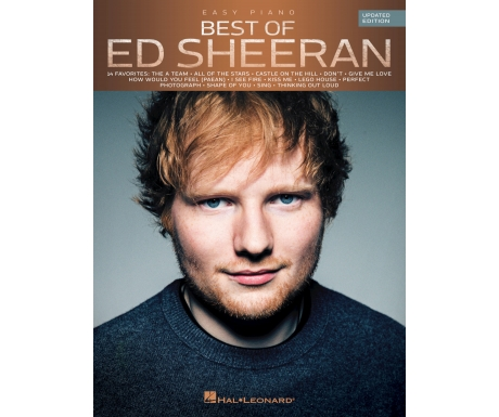 Best of Ed Sheeran (Easy Piano Updated Edition)