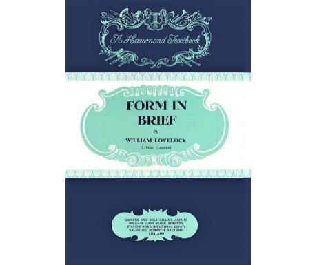Hammond Textbooks: Form in Brief
