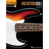 Hal Leonard Bass Method: Book 1 (with Audio Access)