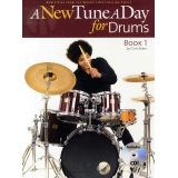 A New Tune a Day for Drums Book 1 (with CD)