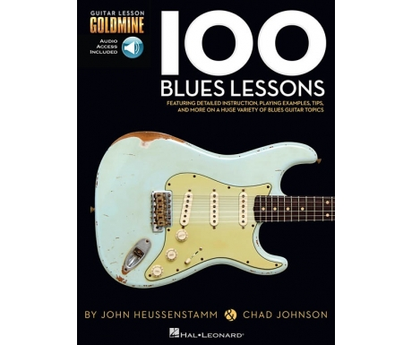 Guitar Lesson Goldmine: 100 Blues Lessons (with Audio Access)