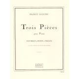 Francis Poulenc: Trois Pièces pour Piano (Pastorale - Hymne - Toccata)