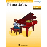 Hal Leonard Student Piano Library Piano Solos Book 3 (with Audio and MIDI Access)