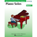 Hal Leonard Student Piano Library Piano Solos Book 4 (with Audio and MIDI Access)