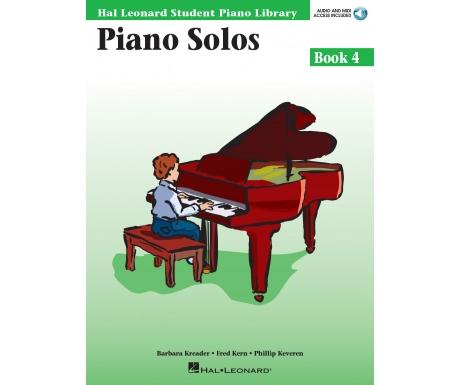 Hal Leonard Student Piano Library Piano Solos Book 4 (with Audio and MIDI Access)