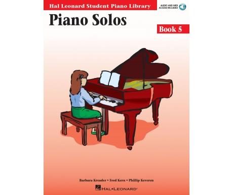 Hal Leonard Student Piano Library Piano Solos Book 5 (with Audio and MIDI Access)