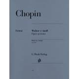 Chopin: Walzer e-moll Opus postum (Waltz in e minor op. post.)