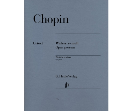 Chopin: Walzer e-moll Opus postum (Waltz in e minor op. post.)