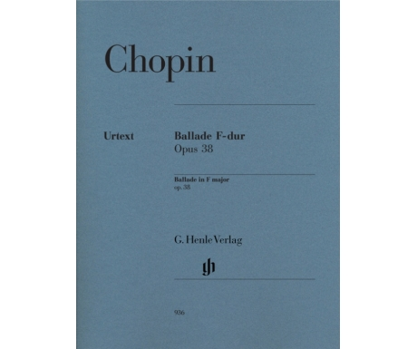 Chopin: Ballade F-dur Opus 38 (Ballade in F major op. 38)
