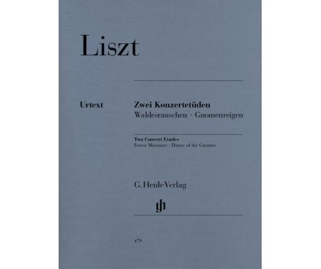 Liszt: Zwei Konzertetüden - Waldesrauschen · Gnomenreigen (Two Concert Etudes - Forest Murmurs · Dance of the Gnomes)