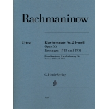 Rachmaninow: Klaviersonate Nr. 2 b-moll Opus 36 - Fassungen 1913 und 1931 (Piano Sonata no. 2 in b♭ minor op. 36 - Versions 1913 and 1931)