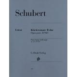Schubert: Klaviersonate B-dur Opus post. D 960 (Piano Sonata in B♭ major op. post. D 960)