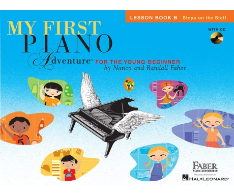 My First Piano Adventure Lesson Book B (with CD and Online Audio)