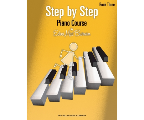 Step by Step Piano Course Book Three