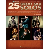 25 Great Sax Solos (with Audio Online)