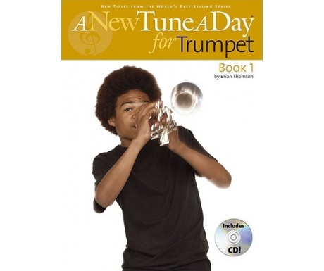 A New Tune a Day for Trumpet Book 1 (with CD)