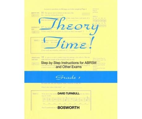 Theory Time! Grade 1