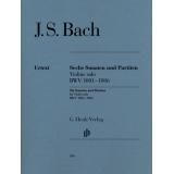 J. S. Bach: Sechs Sonaten und Partiten Violine solo BWV 1001-1006 (Six Sonatas and Partitas for Violin solo BWV 1001-1006)
