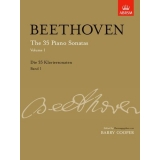 Beethoven: The 35 Piano Sonatas, Volume 1 (with CD)