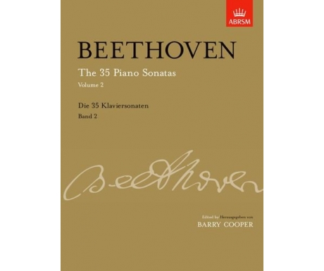 Beethoven: The 35 Piano Sonatas, Volume 2 (with CD)