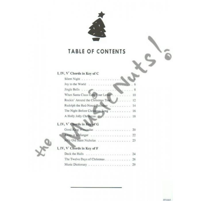 Rockin Around The Christmas Tree Piano Letters.Chordtime Piano Christmas Level 2b