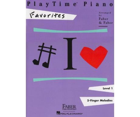 PlayTime Piano Favorites Level 1