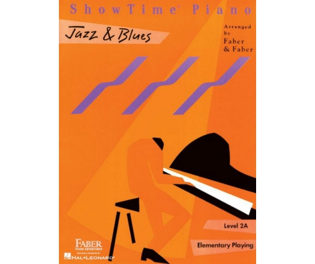 ShowTime Piano Jazz & Blues Level 2A