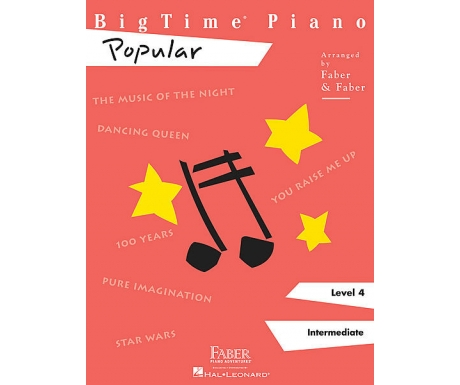BigTime Piano Popular Level 4