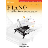 Piano Adventures Technique & Artistry Book Level 4
